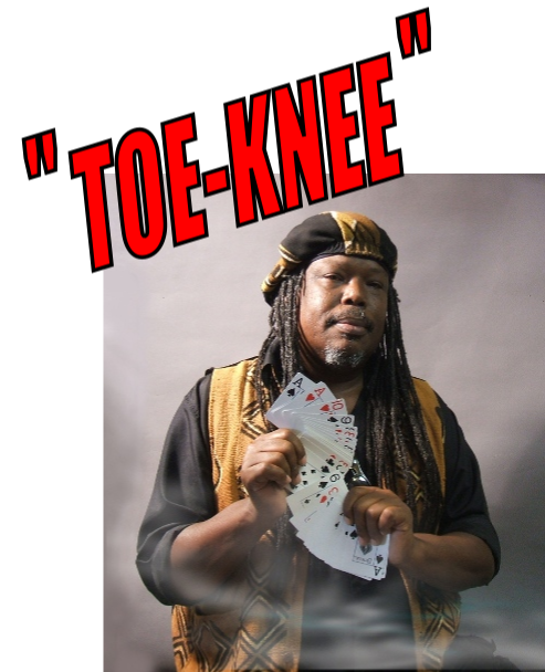 Toe-knee-magic